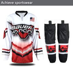 Pro Customized Ice Hockey Jersey----Your Team Logo and Name.