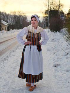 Folk Costume, Costumes, Traditional Dresses, Finland, Nostalgia, Raven, Reindeer, Roots, Landscapes