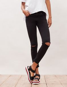 Códigos promocionales chic clásico fabricación hábil Las 287 mejores imágenes de Pantalones, jeans rotos ...