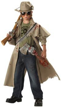 Zombie Hunter Kids Costume - Zombie Costumes