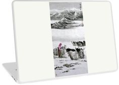 """""""Snowy Mountain"""" Laptop Skins by aplcollections 