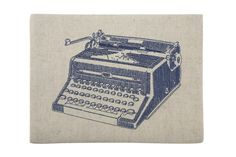 Luddite Ipad Case in Ink design by Thomas Paul