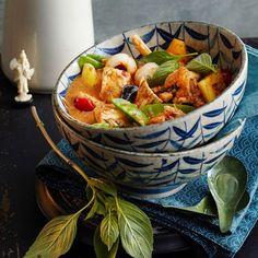 ESSEN & TRINKEN - Rotes Brathähnchen-Curry Rezept