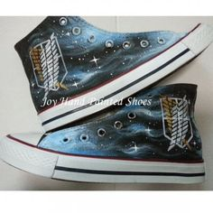 Attack on Titan Anime Chuck Taylor Shoes Fashion Shoes for Men W