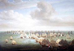 The Beginning of the Battle of Trafalgar 21st October 1805 http://www.britishbattles.com/waterloo/battle-trafalgar.htm