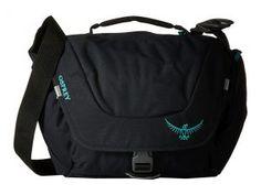 Osprey FlapJill Mini (Black) Shoulder Handbags