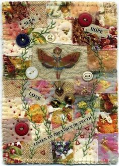 modern crazy quilt collage baumcat