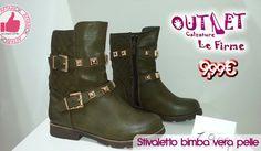 Stivaletto Bimba Vera Pelle Calzature Outlet Le Firme http://affariok.blogspot.it/