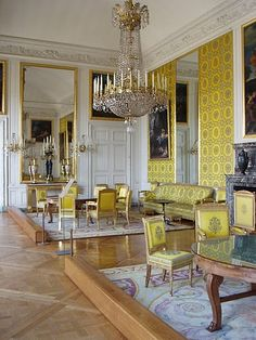 Yellow Salon of the Trianon Palace