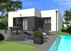 maison personnalisable creamande 70 crea concept | Maison de plain ...