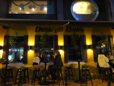 Dusk Till Dawn in Wan Chai, Hong Kong is open 24 hours, with a kick-ass live cover band belting out rock classics all night long.