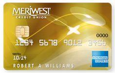 American Express Gold | MERIWEST Credit Union Travel Rewards Bonus Card
