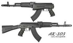 Modern Firearms - CAA Kalashnikov-Israel Kalashnikov-USA ...