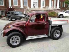1961 Custom Volkswagen Beetle Bug Truck Thing Volkswagon One of a Kind VW Bus, image 1 Auto Volkswagen, Volkswagen Karmann Ghia, Vw T1, Custom Trucks, Custom Cars, Cool Trucks, Cool Cars, Bugatti, Lamborghini
