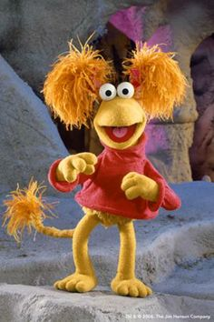 "Red Fraggle from ""Fraggle Rock"""