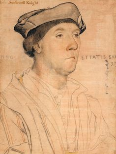 The Portrait of Sir Richard Southwell is a painting by the German Renaissance master Hans Holbein the Younger, executed around Trois Crayons, Renaissance Portraits, Renaissance Art, Tudor History, Art History, Hans Holbein Le Jeune, Elisabeth I, Hans Holbein The Younger, Landsknecht