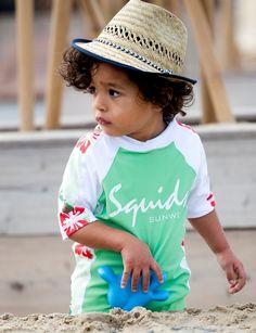 Baby Sunsuit Jungle Green http://www.zonnepakje.nl/product/baby-sunsuit-jungle-green/