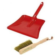 Kid's Dustpan and Brush Set. $15.95