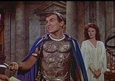 Jay Robinson as Caligula, the best vilian of all time, completely stole The Robe, and it's sequel out from under the other stars.