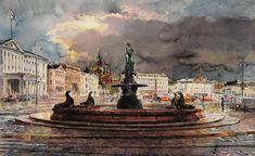 Helsinki by kalinatoneva on DeviantArt