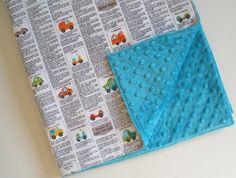 Minky Baby Blanket in Peak Hour Ad SALE by baileygirlsboutique, $32.00