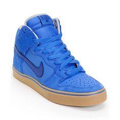 Cheap Nike SB Dunk High LR Royal & Blue Skate Shoe UK Online Store