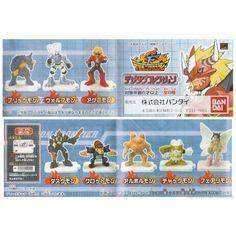 Bandai Gashapon Digimon Xros Wars Cross Wars Full set of 5 mini Figure NEW