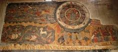 frescoes in Svetitskhoveli, Mtskheta, Georgia 17th Century, Fresco, Astrology, Georgia, Vintage World Maps, Home Decor, Fresh, Decoration Home, Room Decor