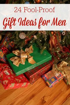 Gift Ideas for Men: Men are usually the hardest people to buy for, or at least it seems that way to me. We hope these 24 fool-proof gift ideas for men will help take away decision fatigue and stress over what to get your man this year! 30 Gifts, Holiday Gifts, Best Gifts, Holiday Ideas, Merry Christmas, Christmas Crafts, Christmas Desserts, Unique Gifts For Men, Gifts For Boys