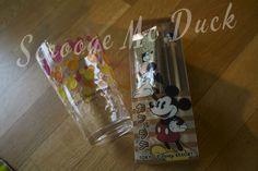 Mickey glass & chopsticks