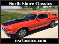 Used 1969 Ford Mustang -MACH 1-TWO OWNER-351 WINSOR-H-CODE-MUSCLE CAR- | Mundelein, IL