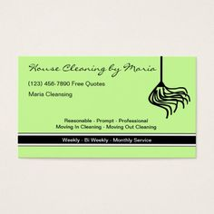 House cleaning maid business card pinterest cleaning maid maid housekeeper business cards colourmoves