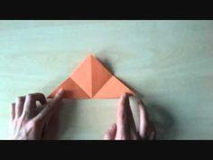 origami dla dzieci - miś - YouTube