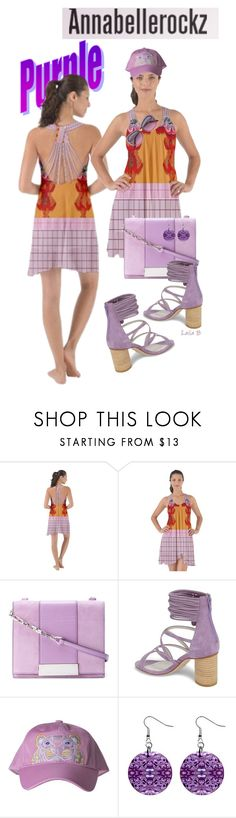 """Purple Spring with Annabellerockz💜"" by laila-bergan ❤ liked on Polyvore featuring Sergio Rossi, Jeffrey Campbell, Kenzo, Victoria Beckham, contest, outfit and annabellerockz"