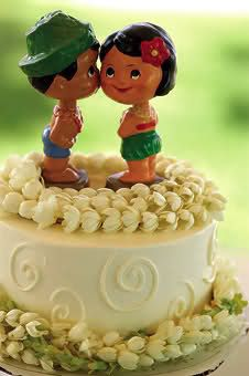 Cute cake topper...if only the boy was less tan :)
