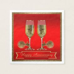 Western Party Champagne And Spurs Custom Text RED Napkin Western Party Supplies, Western Wedding Invitations, Champagne Party, Western Parties, Ecru Color, Anniversary Parties, Westerns, Napkins, Wedding Inspiration