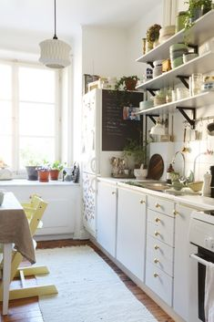 Home in Sweden | via lovely life