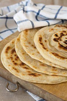 Lisnati indijski hljeb sa puterom | Na tanjiru balkan food, chrono diet, healthi live