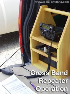 Cross-band repeater operation with your dual band VHF/UHF mobile amateur radio