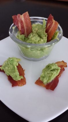 Paleo chips and dip