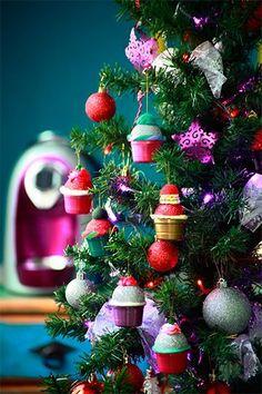 Aprenda a fazer enfeites de Natal com cápsulas de café