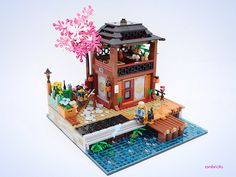 Beautiful extension to Ninjago City [SEC] - lego Lego 4, Cool Lego, Lego Ninjago City, Lego City, Lego Minifigure Display, Lego Pictures, Hobbies For Kids, Lego Room, Lego Castle