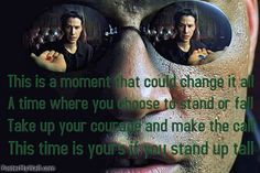 taking charge of YOUR moment!
