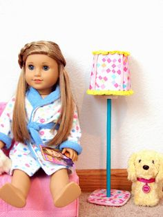 Make a Standing Lamp for Your American Girl Doll ... A Tutorial