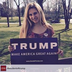 Repost from @students4trump using @RepostRegramApp - Our Ohio State Director casting her first vote today for Donald Trump! THANK YOU!! #StudentsForTrump #AlwaysTrump #MakeAmericaGreatAgain #TrumpTeam #Trump2016 #trumpforpresident