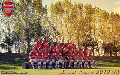 Arsenal Squad for the season 2012/13 #Arsenal #FanArt