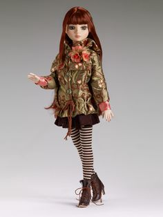 Flora, Fauna and not so Merryweather - San Fran Exclusive, green inset eyes and chestnut wig | Wilde Imagination LE 225   $169.00