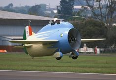 Stipa-Caproni, 1932, Italian, first ducted fan in the world