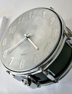 Snare Drum Clock