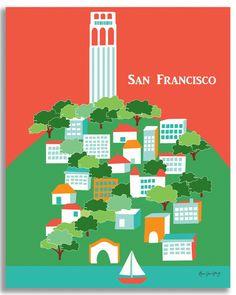 San Francisco, California - Coit Tower